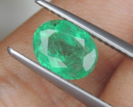 1.36cts Emerald,    Higher End