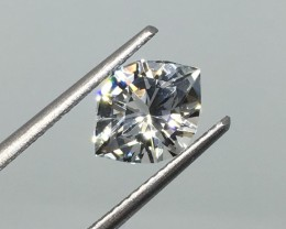 2.46 Carat VVS Topaz Diamond White Master Cut - Nigerian Masterpiece !