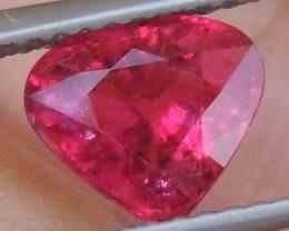 1.43cts, Neon Rubelite Tourmaline,