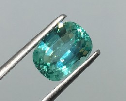 2.60 Carat VS Apatite Paraiba Color - Precision Cut and Stunning Clarity !