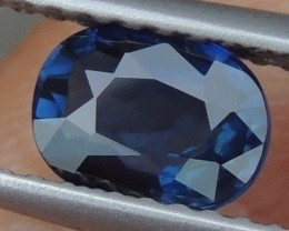 1.04cts,  Unheated Sapphire,   Certified