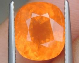 "5.37cts  ""Neon Orange"" Spessartite,  Wow Stone"