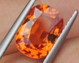 3.46cts  Mandarin Spessartite,  Wow Stone