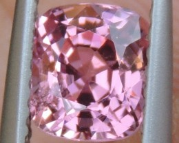 1.24cts  Pink Spinel from Burma ,  100% Untreated,