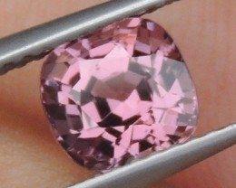 1.44cts  Pink Spinel from Burma ,  100% Untreated,