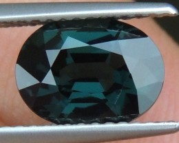 2.52cts  Blue Spinel ,  100% Untreated,
