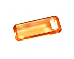 Price Reduced! 1.70 ct High-End  True Imperial Topaz Certified