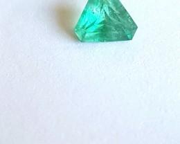 Emerald Trillion - VS - 0.70 CTS - Oiled - Brazil