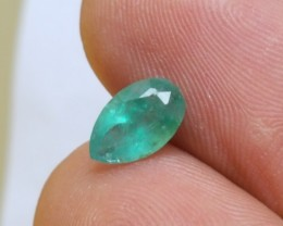 Emerald Pear - VS - 1.10 CTS - Oiled - Brazil
