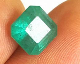 Emerald -3.55CTS- VS/SI - Intense green - Oiled - Brazil