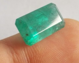 8.80 CTS -Emerald Square - 16 x 10 x 7.5 mm - Oiled - Brazil