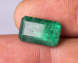 Untrated 8.80 CTS -Emerald - 16 x 10 x 7.5 mm - Brazil