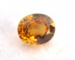 3.12 Carat Fantastic Oval Cut Orange Grossular Garnet