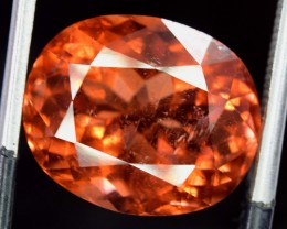 9.30 carats Beautifull Mint Red ~ Color Afrcan Tourmaline Gemstone