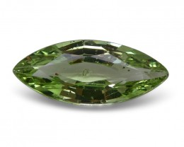 2.01 ct Marquise Green Grossularite Mint Garnet-$1 No Reserve Auction *FREE