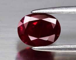 1.26 ct  GIA Certified  Red Ruby Heat Only