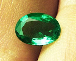 2.70 ct Absolute High-End GIA Certified IF-VVS Minimally Treated Zambian Em