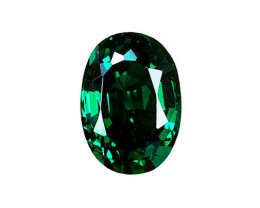 GIA Certified Minimally Treated 2.70 ct Absolute High-End Zambian Emerald