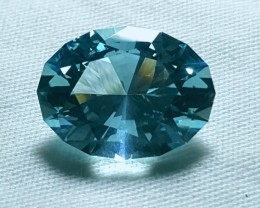 6.23 ct Untreated Aquamarine - Certified!
