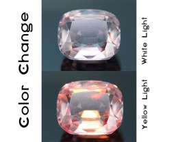 Gil Certified AAA Grade 2.21 ct Turkish Diaspore Reddish Color Change SKU.6