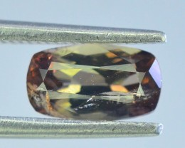 Rare 0.95 ct Multicolor Natural Axinite