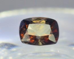Rare 0.80 ct Multicolor Natural Axinite