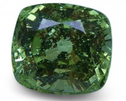 2.08 ct Green Grossularite / Tsavorite Garnet-$1 No Reserve Auction