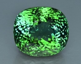 17.57 Cts Mesmerizing Beautiful Color Natural Green Tourmaline