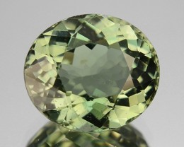 ~BRILLIANT CUT~ 2.00 Cts Natural Nice Green Tourmaline Oval Cut Mozambique