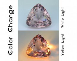 Gil Certified AAA Grade 4.73 ct Turkish Color Change Diaspore SKU.6