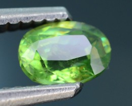 AAA Clarity 0.69 ct Tanzanian Demantoid Garnet SKU.2