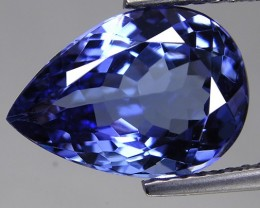 1.30 ct Beautiful Color IF Clarity Natural Tanzanite