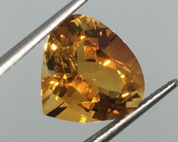 5.70 Carat VVS Citrine Medeira Color - Brazilian - Beautiful Pear !