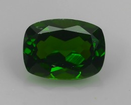 1.30 Cts MARVELOUS RARE NATURAL TOP GREEN- CHROME DIOPSIDE DAZZLING  NR!!