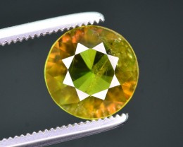 Top Fire 1.45 Ct Natural Chrome Green Sphene