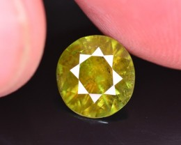 Top Color 1.80 Ct Natural Chrome Green Sphene