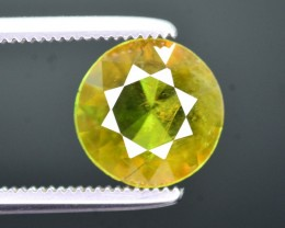 Top Fire 1.40 Ct Natural Chrome Green Sphene