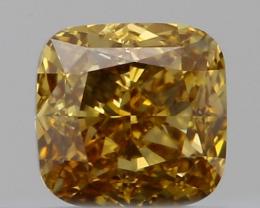 0.55CT DIAMOND YELLOW COLOR  NATURAL COLLECTION PIECE IGCDM03