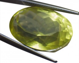 23.32 ct Oval Lemon/Oro Verde Citrine - $1 No Reserve Auction