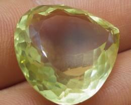 35.12 ct Pear Lemon/Oro Verde Citrine