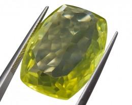 26.84 ct Cushion Lemon/Oro Verde Citrine