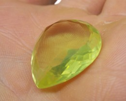 21.26 ct Pear Lemon/Oro Verde Citrinet- $15 No Reserve Auction