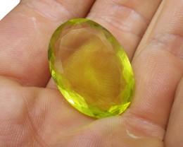 29.26 ct Oval Lemon/Oro Verde Citrine