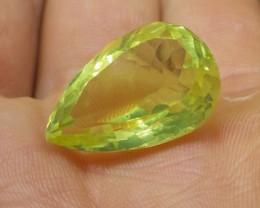 21.16 ct Pear Lemon/Oro Verde Citrine
