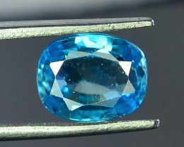 3.30 ct Natural Blue Zircon From Cambodia