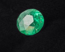 4. 30 CTS Emerald - VS/SI - Vivid Intense - Round cut - Oiled - Brazil