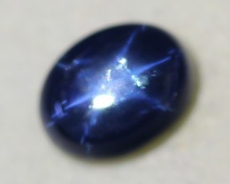 6.14ct 6 Rays Star Blue Sapphire Lot GW2405