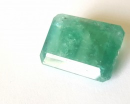 21 CTS - Emerald - Rectangular cut - Oiled - Brazil