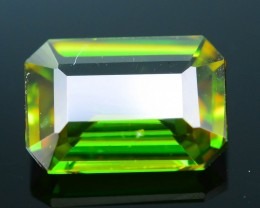 AAA Green Color 1.06 ct Chrome Sphene Skardu Pakistan SKU.18