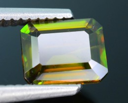 AAA Green Color 1.44 ct Chrome Sphene Skardu Pakistan SKU.18